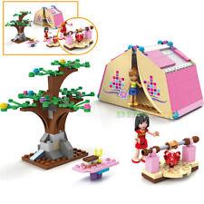Educational Girls Outdoors Holiday Camping  Building Blocks Toys Bricks Sets Hot
