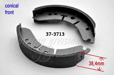 37-3713 19-7744 Triumph BSA 1971-72 Conical Duplex Bremsbeläge brake shoes W3713