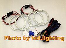 BMW Angel Eye Halo Ring Light LED SMD E46 White 2D 2 Door Coupe 2DR Facelift