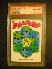 1968 LAUGH IN NECKLACE CARD #49 GRADED PSA 8 (NONE HIGHER)