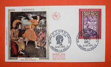 Enveloppe Premier Jour France -  Andorre 1970 - N° 1