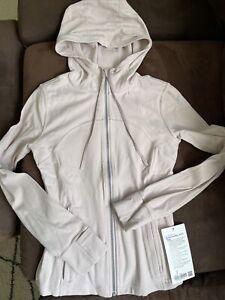 NEW Women Lululemon Hooded Define Jacket Nulu  Size 6PBLS pink