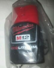 NEW Genuine Milwaukee M12 12-Volt RED LITHIUM Ion 48-11-2401 Battery