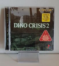 Dino Crisis 2 Ref /C Ps1 PLAYSTATION Japanese Boxed + Instructions A5219