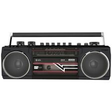Qtx Ace portable Rétro Radio Lecteur de Cassette avec Bluetooth & Mp3 Playback
