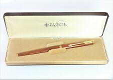 Parker 180 fountain pen in Red Jasper.