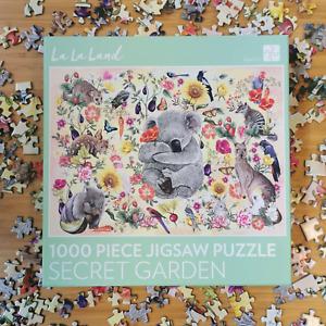 Secret Garden australia Jigsaw Puzzle 1000 Piece game Koala Butterfly Kookaburra