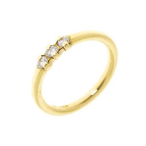 Pre-owned 18ct Three Stone Diamond Ring