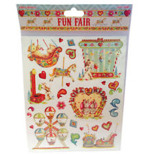 "Pack 12 Fun Fair by Helz Cuppleditch 5""x7"" Cards /& Envelopes"