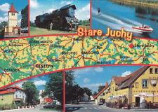 POLAND - POLSKA - STARE JUCHY K. EŁK - MAPKA - MAP - KARTE - ALT JUCHA