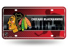 Chicago Blackhawks Logo NHL 12x6 Auto Metal License Plate Tag CAR TRUCK