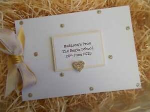 Glitter Personalised Prom Scrapbook Memory Photo Album Gift