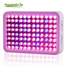 PopularGrow Upgrade 300w LED Grow light 2 IN 1 chips Ture 3w COB Reflector lamp