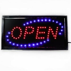 Subs and Salads LED Window Sign