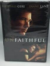 Unfaithful Richard Gere Diane Lane Oliver Martinez DVD Free Shipping