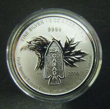2016 Canada $2 First Special Service Force Devil's Brigade 1/2oz Silver Coin