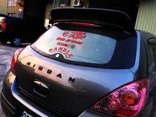 Painted  For NISSAN TIIDA VERSA Hatchback C11 Trunk Spoiler HIGH KICK Type