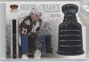 2013 Panini Crown Royale Silver Chalice Materials Prime /25 Milan Hejduk #SI-MHE