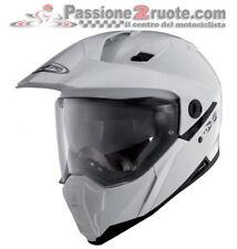 Casco integrale enduro moto Caberg Xtrace bianco taglia S touring motard