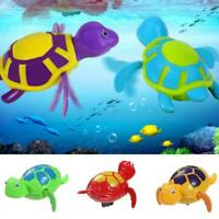 Wind-up Turtle Bath Time Animal Clockwork Floating Kid Baby Swimming Pool L&6