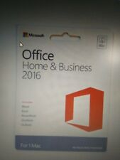 MICROSOFT OFFICE 2016 HOME AND BUSINESS FOR 1 MAC - LICENSE KEY