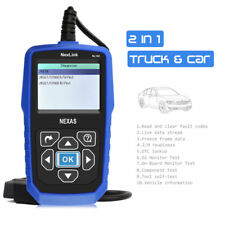 Heavy Duty Diesel Truck&Car Diagnostic Scanner Tool OBD2 EOBD Code Reader NL102