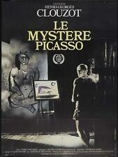 THE MYSTERY OF PICASSO Movie POSTER 27x40 French