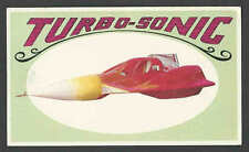 1970* CONCEPT CAR TURBO-SONIC USED IN TV ADS MAN FROM GLAD MINT COLLECTOR CARD