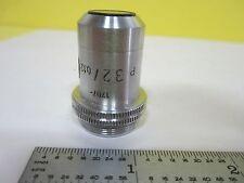 Microscopio Parte Obiettivo Leitz Germania 3.2X P Ottiche Cestino #U1-42