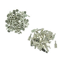 150pcs Glue on Rectangle Heart Pad Pendant Bail Finding for Jewellery Making