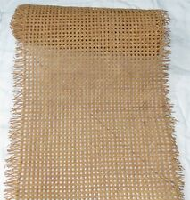 """Vintage roll of cane webbing for chairs or basketry - 18"""" wide x 6' long"""