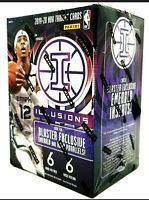 19-20 Panini Illusions Basketball SEALED Blaster Box. Zion, Morant, Herro RC?