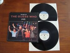 The Guess Who Best Of Live NM US 2 LP PROMO Press BTO CLEAN VINYL