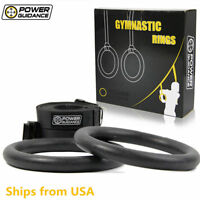 Gymnastic Ring ABS Olympic Gym Rings Body Strength Cross Training Bodyweighted