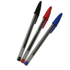50 colore NERO Cristal penne Bic ROSSO BLU spedizione con corriere espresso lm