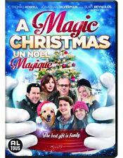 A MAGIC CHRISTMAS DVD w/ LISA SHERIDAN & BURT REYNOLDS (2014)