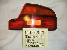 1990-1993 INFINITI Q45 GENUINE FACTORY PASSENGER TAILLIGHT ASSEMBLY FREE SHIPPIN