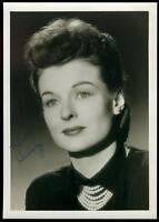 Ruth Hussey Signed Jsa Certed Vintage 5x7 Photo Autograph
