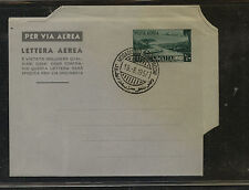 Somalia  air letter  sheet  cancelled  1957            PS0505