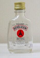 REVOLUCION Reposado TEQUILA EMPTY! MINIATURE BOTTLE - NO! Contents - COLLECTIBLE