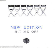 NEW EDITION - Hit Me Off (UK 6 Track CD Single)