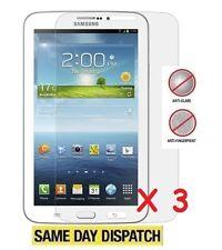 3 X Samsung Galaxy Tab 3 P3200 7 Pulgadas mate antideslumbrante Protectores De Pantalla Y Paño