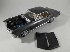 Vtg 1964 Buick Riviera Gray & Silver Kit Plastic Car