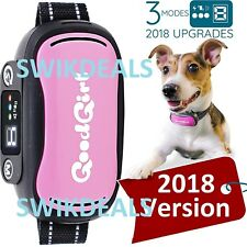 v.2018 PINK GoodBoy Vibrating Shock Anti-Bark Collar Rechargeable  Waterproof t1