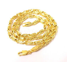 """fashion1uk 14K Yellow Gold Plated Chain Medium Length 19.5"""" 50cm Chain Necklace"""