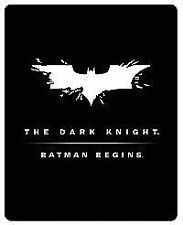 Batman Begins / The Dark Knight DVD + UV Copy 2005 - Christian Bale
