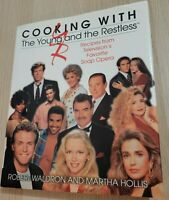 Cooking with The Young and the Restless Robert Waldron Martha Hollis Hardcover