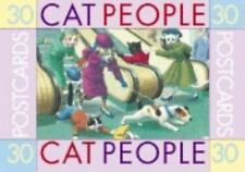 Excellent Condition: 30 POSTCARDS-CAT PEOPLE (Darling & Company, Seattle, 2000)
