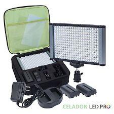 Radiant 280-LED CRI 95+ Bi-Color Video Camera and On-Camera Light Kit