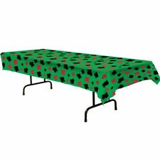Green All Occasions Party Table Cover and Skirt